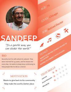 Persona 6 - Sandeep