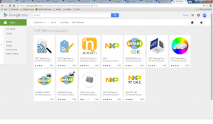 Existing NXP apps