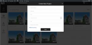 Prototype - Create New Project